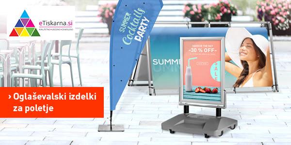 oglaševalski izdelki za poletje