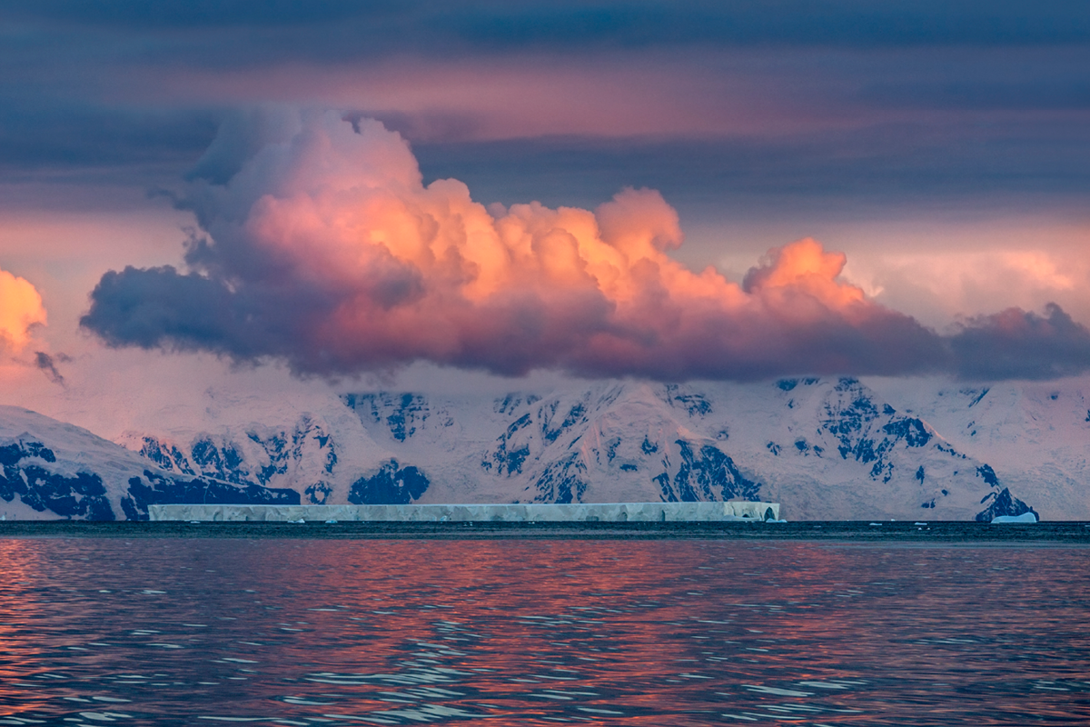 The Antarctica Peninsula