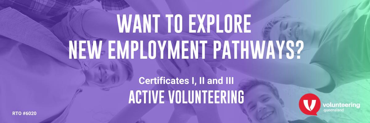 New employment pathways offered by Volunteering Queensland