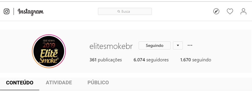 Elite Smoke (@elitesmokebr) do Instagram